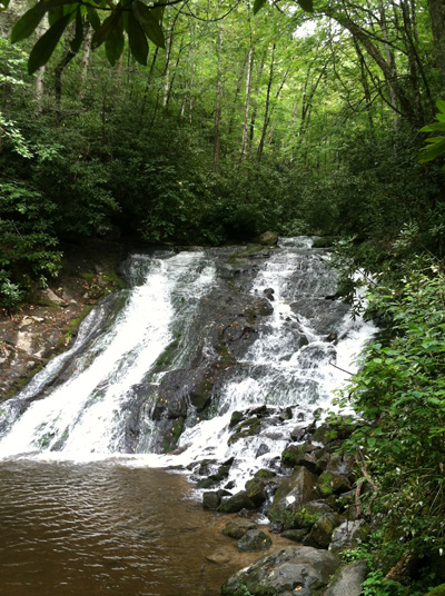 Smoky Mtn waterfall 2