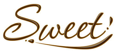Sweet Chocolate text