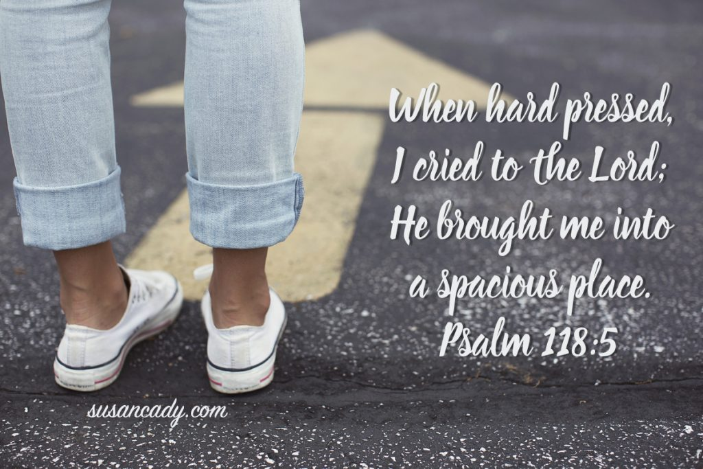 Psalm 118-5-Unstuck