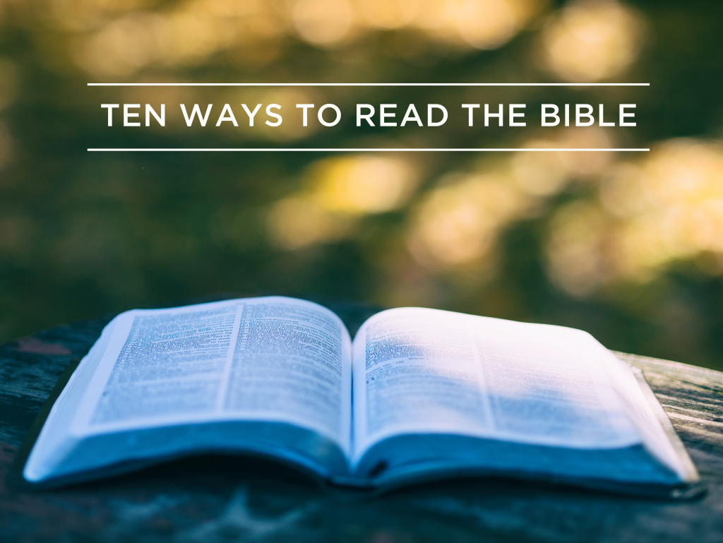 ten ways read bible